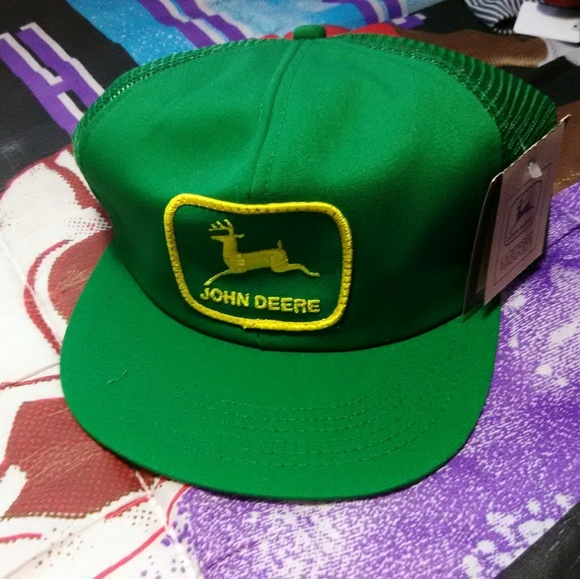 Other - Vintage john deere k products DSWT trucker hat